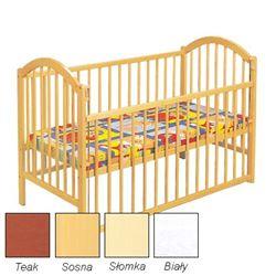 Attēls  Bērnu gultiņa EWELINA I ar nolaižamu sānu