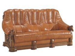 Attēls  Ādas dīvāns OSKAR 3R