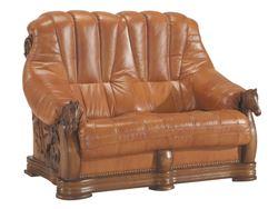 Attēls  Ādas dīvāns OSKAR 2N