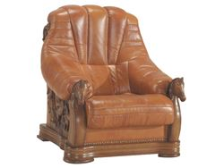Attēls  Ādas krēsls OSKAR 1