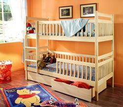 Attēls Divvietīgas un trīsvietīgas gultas
