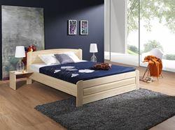 Attēls  Koka gulta BAZYL 140