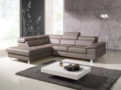 Attēls  Ādas stūra dīvāns COSTA