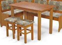 Attēls  Virtuves galds+2 taburetes SKT