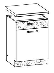 Attēls  Virtuves skapītis MODENA MD16/D60S1 (Trawa morska)