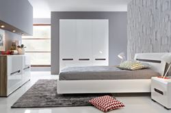 Attēls Guļamistabas iekārta AZTECA TRIO