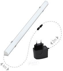 Attēls  LED apgaismojums ar transformatoru 6m