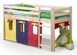 Attēls  Koka gulta NEO (2 krāsas)