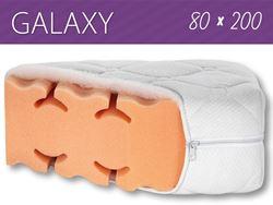 Attēls  Divpusējs ortopēdiskais matracis GALAXY 80x200 cm