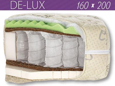 Attēls  Divpusējs matracis DE-LUX ziema-vasara 160x200 cm