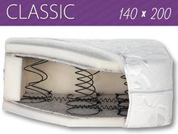 Attēls  Divpusējs matracis CLASSIC 140x200 cm