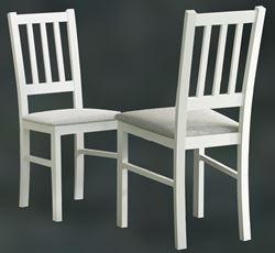 Attēls  Koka krēsls BOSS IV (Balts)