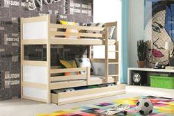 Attēls  Divstāvu gulta RICO 160 Priede (6 krāsas)