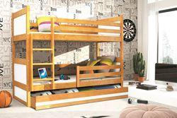 Attēls  Divstāvu gulta RICO 160 Alksnis (6 krāsas)