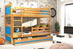 Attēls  Divstāvu gulta RICO 185 Alksnis (6 krāsas)