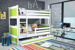 Attēls  Divstāvu gulta RICO 185 Balta (6 krāsas)