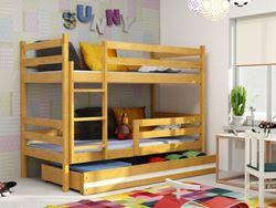 Attēls  Divstāvu gulta ERYK 190 Alksnis (6 krāsas)