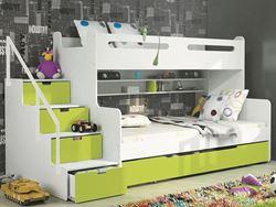 Attēls  Divstāvu gulta MAX 3 (5 krāsas)