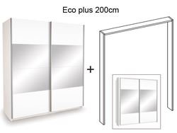 Attēls  Rāmis ar apgaismojumu skapim ECO PLUS 200 balts