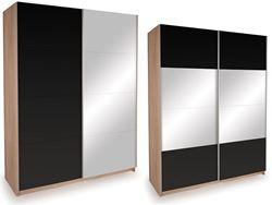 Attēls  Skapis ECO PLUS 150 ZL ST20 ar spoguli, pulēts