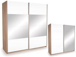 Attēls  Skapis ECO PLUS 200 ZL ST15 ar spoguli, pulēts