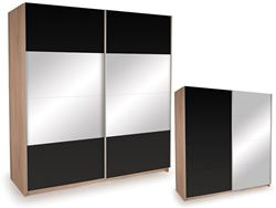 Attēls  Skapis ECO PLUS 200 ZL ST20 ar spoguli, pulēts