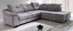 Attēls  Ādas stūra dīvāns NOBILIA