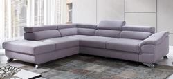 Attēls  Ādas stūra dīvāns LAGOS