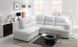 Attēls  Ādas stūra dīvāns GUSTO