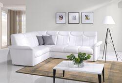 Attēls  Ādas stūra dīvāns SIENA