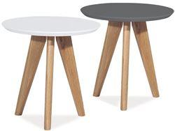 Attēls  Koka galdiņš MILAN S1 (2 krāsas)