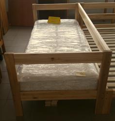 Attēls  Koka gulta JUTA 2
