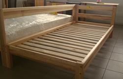 Attēls  Koka gulta JUTA 1