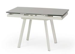 Attēls  Izvelkams galds ar stikla virsmu TURION (120-180 cm)