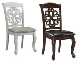 Attēls  Koka krēsls VIRGINIA (2 krāsas)