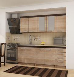 Attēls  Virtuves iekārta MILO 2-2 (Sonoma jasna)