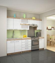 Attēls Virtuves skapīši MILO 5 ( Craft bialy )