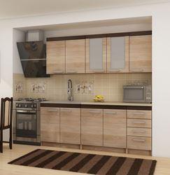 Attēls Virtuves skapīši MILO 2 ( Sonoma jasna )