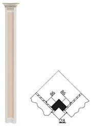 Attēls  Dekoratīvais stabs VERONA V-4