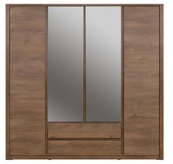 Attēls  Skapis ar spoguli MONTI 4d2s