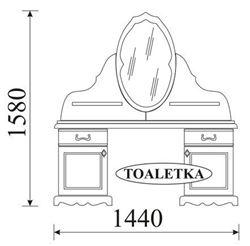 Attēls  Tualetes galdiņš OL-TAR TOALETKA