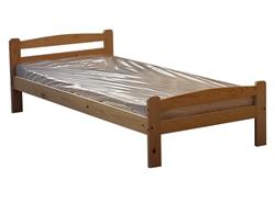 Attēls  Koka gulta LAURA 90