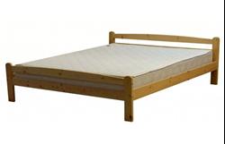 Attēls  Koka gulta LAURA 160
