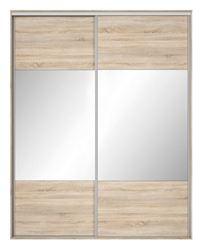 Attēls  Skapis ar spoguli NADIR SZF/200