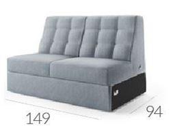 Attēls  Dīvāns CAMPARI R-3 (divvietīgs)