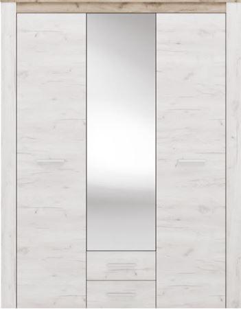 Attēls  Skapis 3 ar spoguli AMSTERDAM