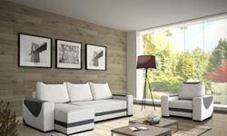 Attēls  Stūra dīvāns ar krēslu ROSSA