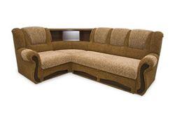 Attēls  Stūra dīvāns KARMENA ar plauktu