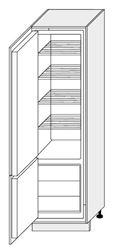Attēls  Skapis iebūvējamai tehnikai MALMO D14/DL/60/207