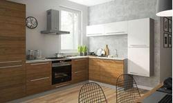 Attēls  Virtuves iekārta MALMO Nr. 1 (Koka/balta)